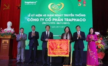 Traphaco hold the 45th anniversary of the company's traditional day