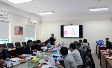 "Traphaco conducts the acceptance of the project of  ""Perfecting the manufacturing procedures of supplements for diabetes treatment from medicinal herbs: bằng lăng nước, giảo cổ lam and tri mẫu"""