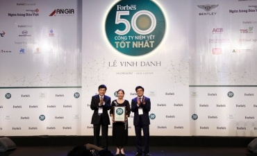 Traphaco and its 5 consecutive times in Top 50 best listed companies in Vietnam  2017