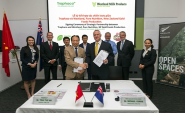 Traphaco signed a strategic partnership with Westland - Pure Nutrition