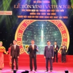 Boganic of Traphaco was honored in the top 10 Vietnamese brand name for the second time