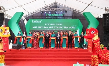 Traphaco inaugurates Vietnam's most modern pharmaceutical factory